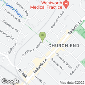 Map of Top Tuition Finchley in London, london
