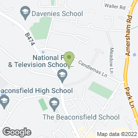 Map of Straid Veterinary Clinic in Beaconsfield, buckinghamshire