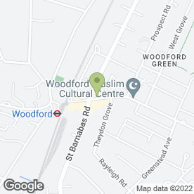 Map of Oriental Pearl in Woodford Green, greater london