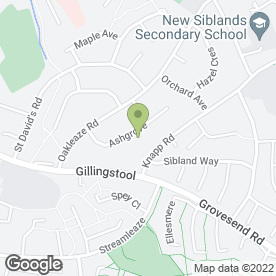 Map of Ovenclean in Thornbury, Bristol, avon