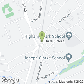 Map of The Village Florist in London, london