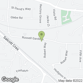 Map of KSS Hire Services Ltd in Wickford, essex