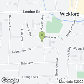 Map of UNDER PRESSURE SERVICE & REPAIRS in Wickford, essex