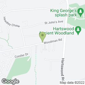 Map of The Brave Nelson in Warley, Brentwood, essex