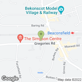 Map of Glow On The Inside And Out in Beaconsfield, buckinghamshire