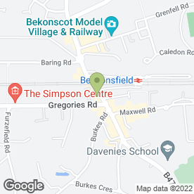 Map of Pike Smith & Kemp in Beaconsfield, buckinghamshire