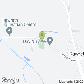 Map of The Day Nursery in Rawreth, Wickford, essex