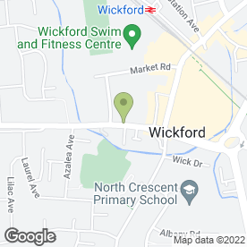 Map of Brenda Hammond Soft Furnishings in Wickford, essex