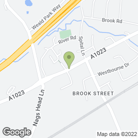 Map of BULL in Brentwood, essex