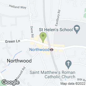 Map of NORTHWOOD LAW PRACTICE in Northwood, middlesex