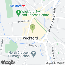 Map of Andrea's Beauty Room in Wickford, essex