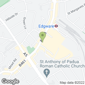 Map of Guardforce Security Services in Edgware, middlesex
