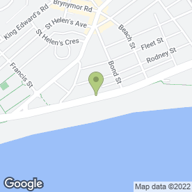 Map of Beachcomber in Swansea, west glamorgan