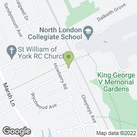 Map of National Legal Services in Edgware, middlesex