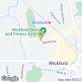 Map of Club Bar in Wickford, essex
