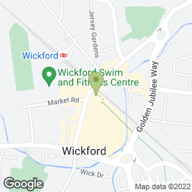 Map of Citizens Advice Bureau in Wickford, essex