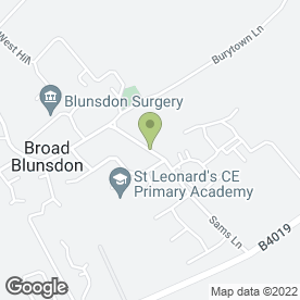 Map of Beefy Skips in Blunsdon, Swindon, wiltshire
