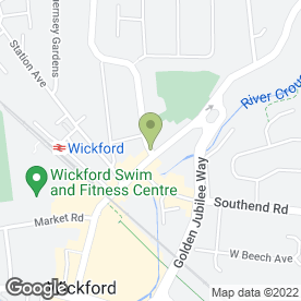 Map of Quick Fix Ltd in Wickford, essex