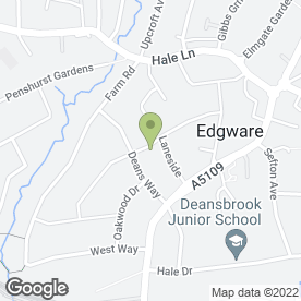 Map of Mordconstruct Ltd in Edgware, middlesex