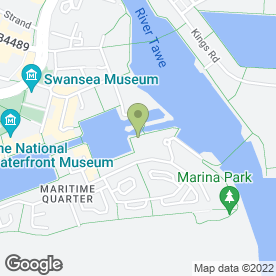 Map of Mark Mee Disco's For Weddings in Maritime Quarter, Swansea, west glamorgan