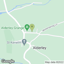 Map of Alderley House Bottling Co in Alderley, Wotton-Under-Edge, gloucestershire