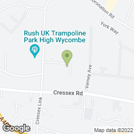 Map of Rentokil Pest Control in High Wycombe, buckinghamshire