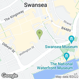 Map of Cwtch Ltd in Swansea, west glamorgan