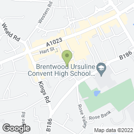 Map of C.A.I in Brentwood, essex