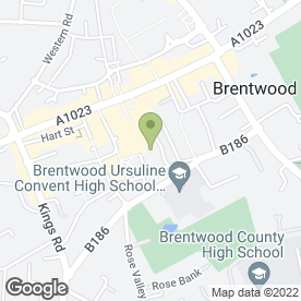 Map of learndirect centres in Brentwood, essex