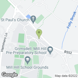 Map of Mill Hill School Sports Centre in London, london