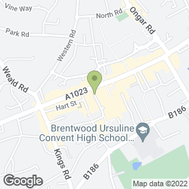 Map of Thai Orchid in Brentwood, essex