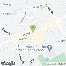 Map of Creatures Great & Small in Brentwood, essex