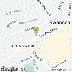 Map of Andrew Price Hairdressing in Swansea, west glamorgan