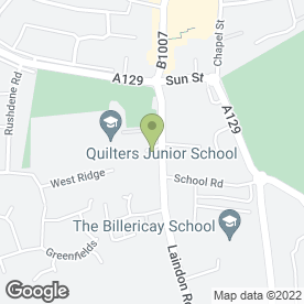 Map of The Ivory Rooms in Billericay, essex