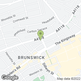Map of Davies Phillips LLP in Swansea, west glamorgan