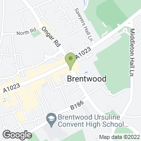 Map of Bagelbyte in Brentwood, essex