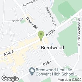 Map of Uppercut in Brentwood, essex
