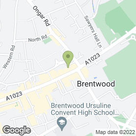 Map of Paradise Stores in Brentwood, essex