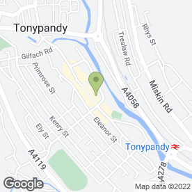 Map of Graeme John Ltd in Tonypandy, mid glamorgan