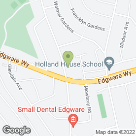 Map of Esther Gaughan in Edgware, middlesex
