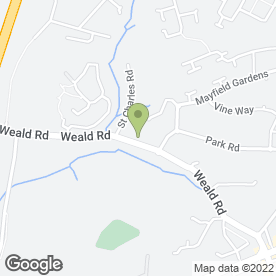 Map of Bardswell Social Club in Brentwood, essex
