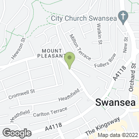 Map of Alexander Photography in Swansea, west glamorgan