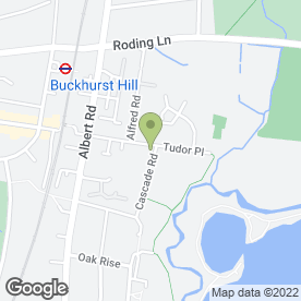 Map of Elizabeth Bennett in Buckhurst Hill, essex