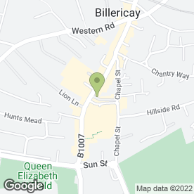 Map of Brassiere Gerard in Billericay, essex