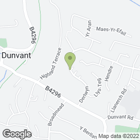 Map of Aquarod in Dunvant, Swansea, west glamorgan