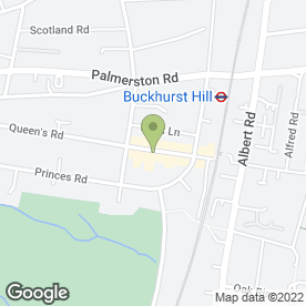 Map of White & Mileson in Buckhurst Hill, essex