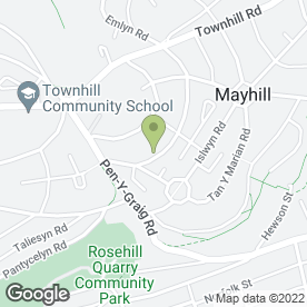 Map of Adams Building & Roofing in Mayhill, Swansea, west glamorgan