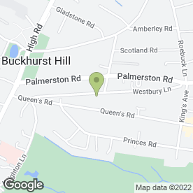 Map of GDP Architects & Designers Ltd in Buckhurst Hill, essex