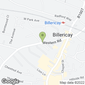 Map of SUMMERDALE VETERINARY CENTRE in Billericay, essex