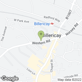 Map of Clean Of Herts in Billericay, essex
